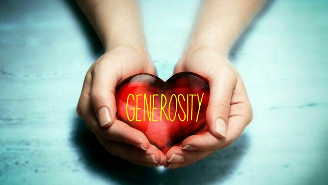 Generosity – The Proving Element of Love